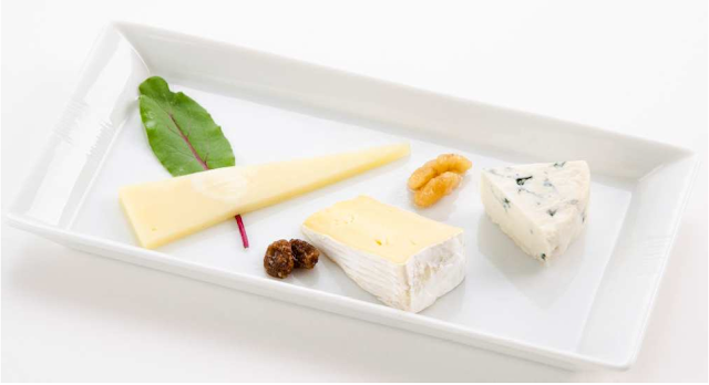 JAL Business Class cheese offerings for Fall 2013
