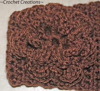 A Two Double Crochet Cluster Stitch How To