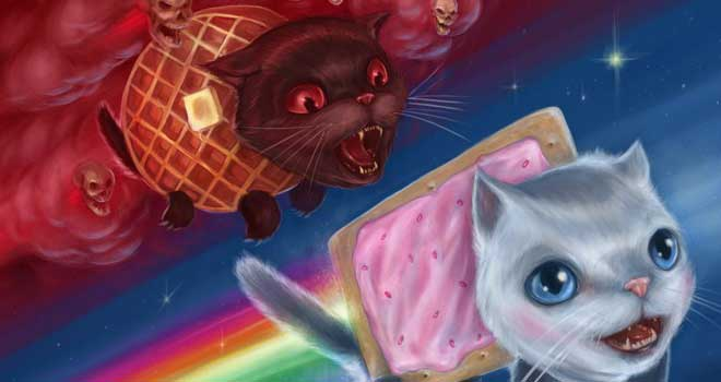 pictures of beauty  collection of cute nyan cat wallpapers