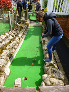 Pebble Beach Adventure Golf at the Pleasure Beach in Skegness