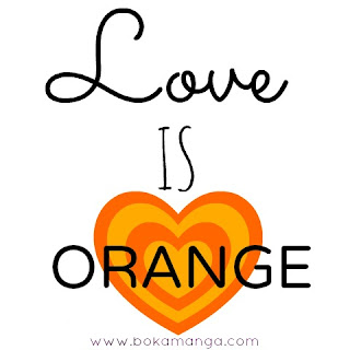 LOVE IS ORANGE EN BOKAMANGA