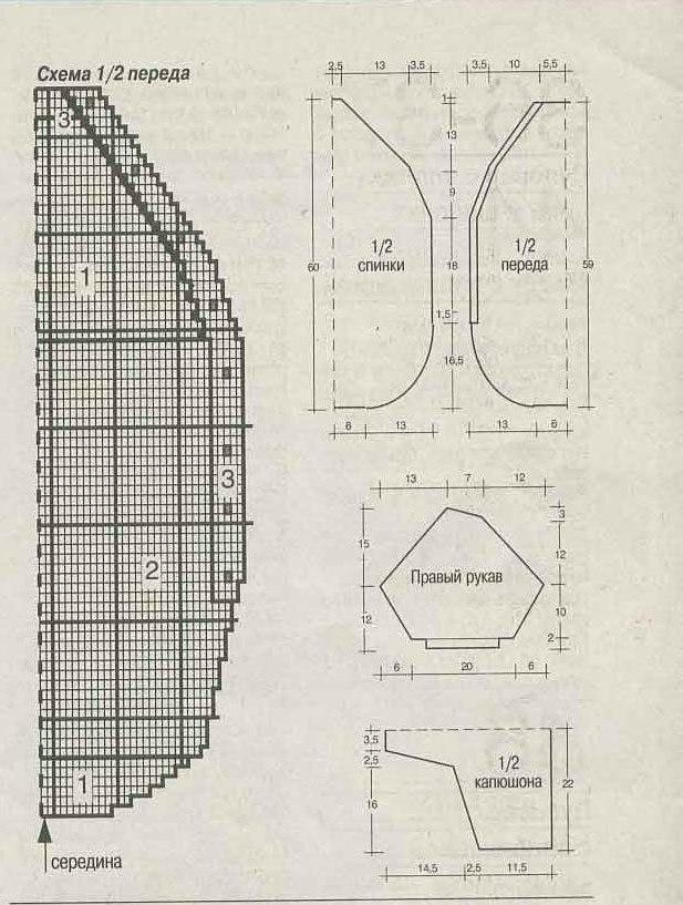 Конверт для новорожденного спицами схема вязания 91