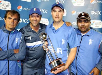 Italia Campione d'Europa T20 2013