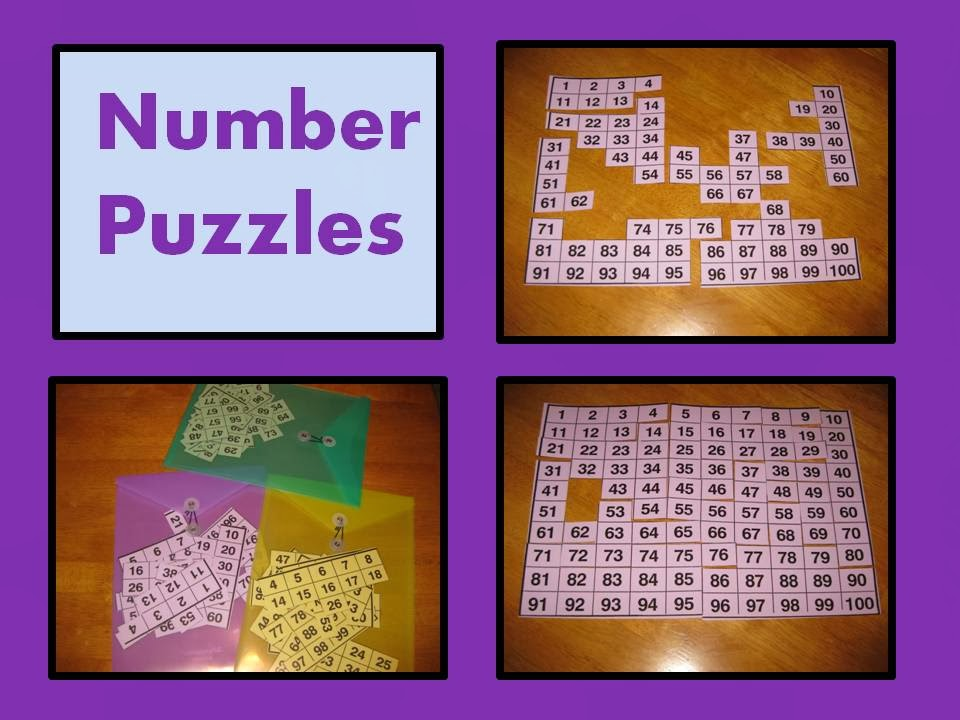 Tips & Ideas From Anne Gardner: Mystery Number Puzzles With