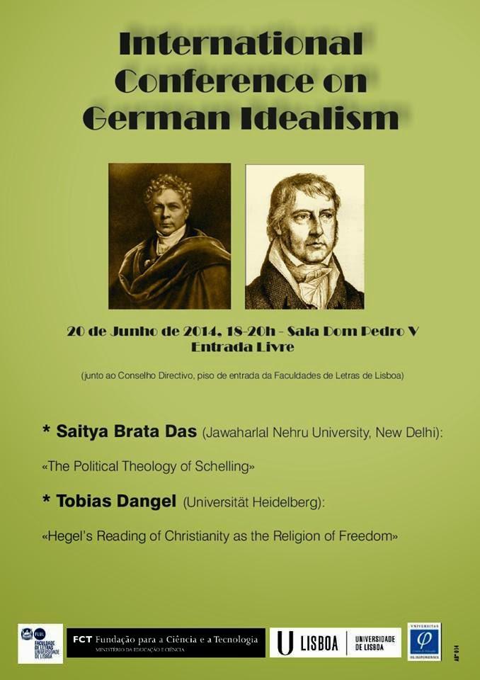 Colóquio: O idealismo alemão