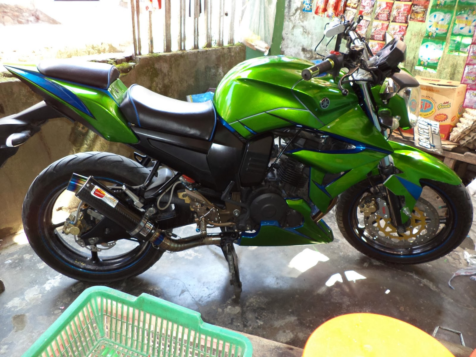 referensi modifikasi byson model z250