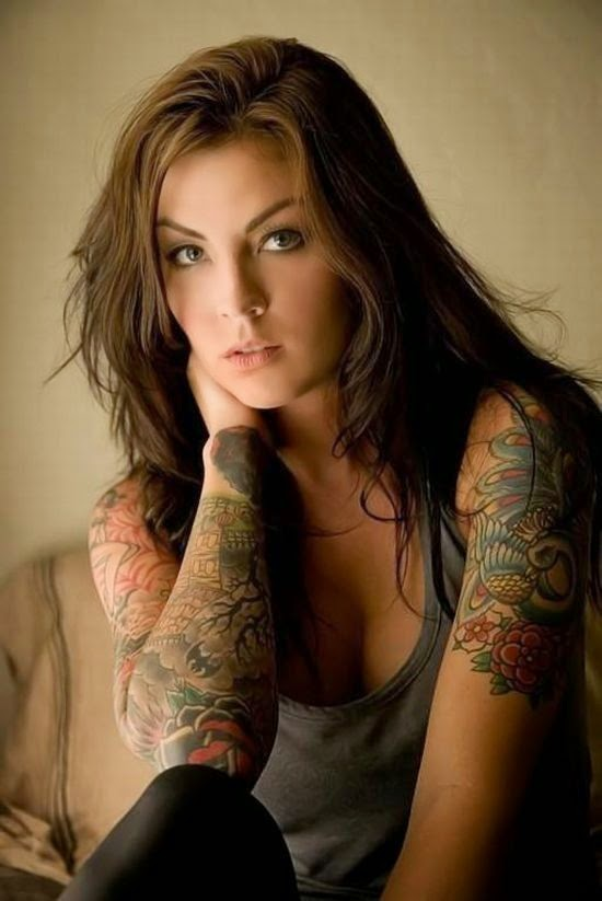 ♥ ♫ ♥ Beautiful Sleeve Tattoo ♥ ♫ ♥
