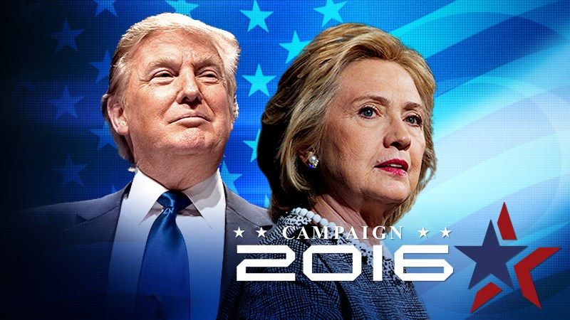 TRUMP V. CLINTON 2016, ITS GAME ON.
