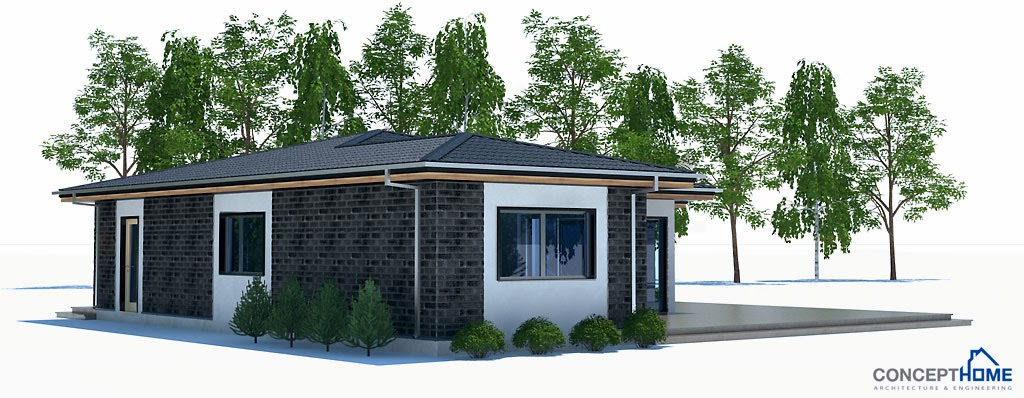 Affordable home plans small affordable home plan ch214 for Affordable house design
