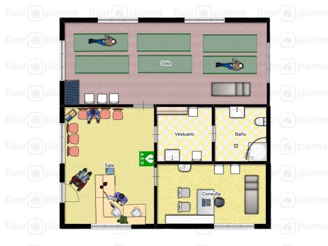 Fisioterapia para t proyecto de cl nica planos y bocetos for Requisitos para estudiar arquitectura