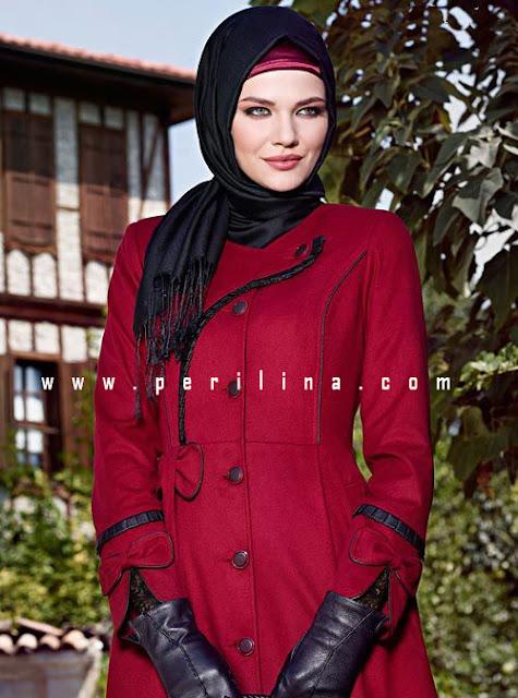 alvina kırmızı kaban,alvina online alışveriş