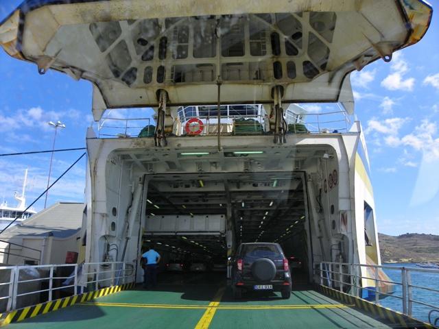 Ferry de Malta a Gozo con coche