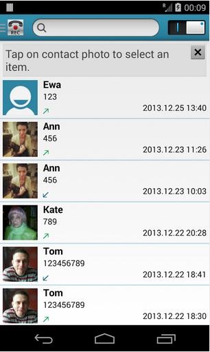 grabar llamadas android.