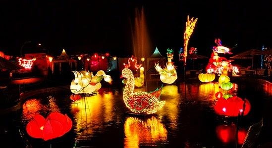 Objek Wisata Batu Night Spectacular Malang