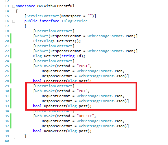 http put request to restful wcf using fiddler