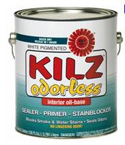 Kilz primer for wood on cabinets