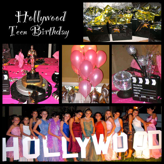 Restaurant Reservation Hollywood Theme Party Ideas