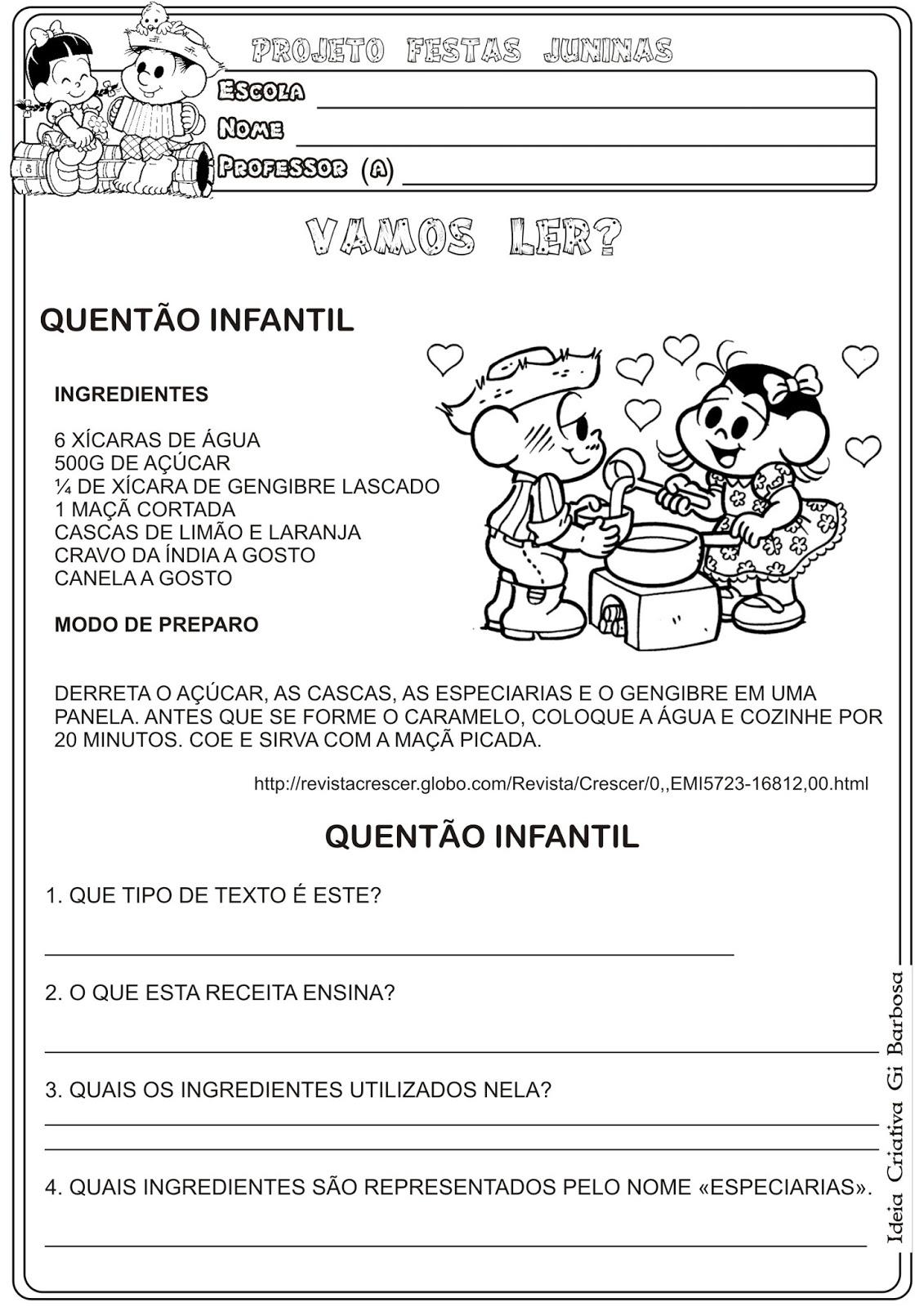 Favoritos Lipitipi- Atividades e Projetos Fundamental I: Atividade Festas  EM59
