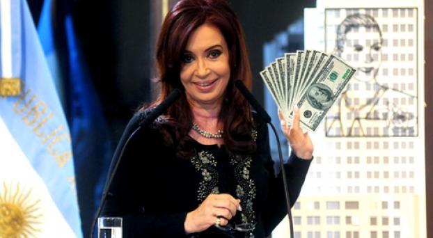 Cristina Kirchner Robando