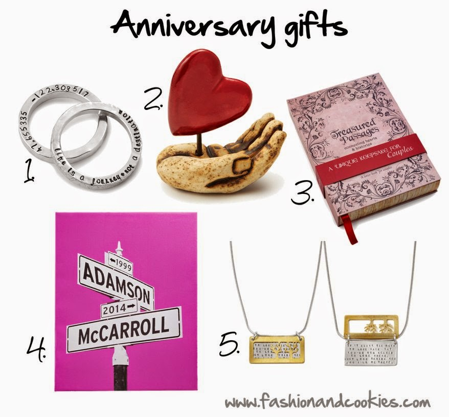 anniversary gifts guide, unique presents, shopping ideas, Fashion and Cookies, fashion blogger