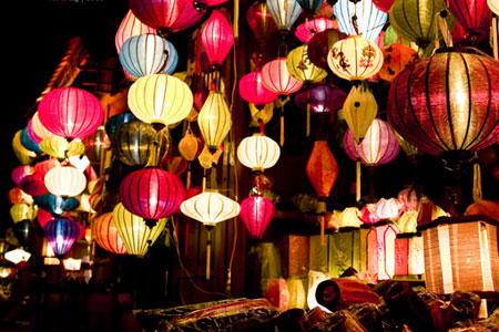 Hoi An's handcrafted lanterns