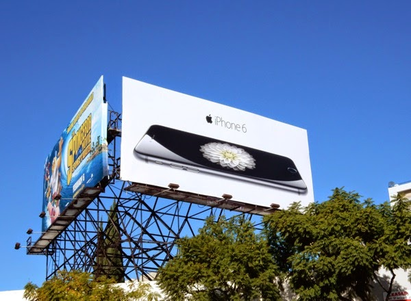 Apple iPhone 6 2nd wave billboard