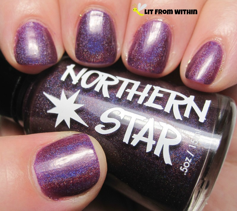 gorgeous plum holo, Northern Star Polish Yummy Plummy