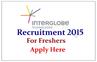 InterGlobe Technologies off Campus Drive for freshers for the Various posts