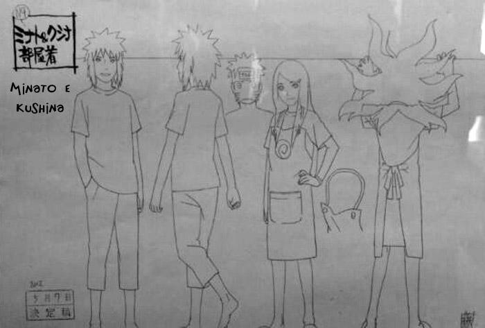 "Novidades ""Road To Ninja""   (Scans) Minato-Drawing"