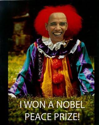 clown obama