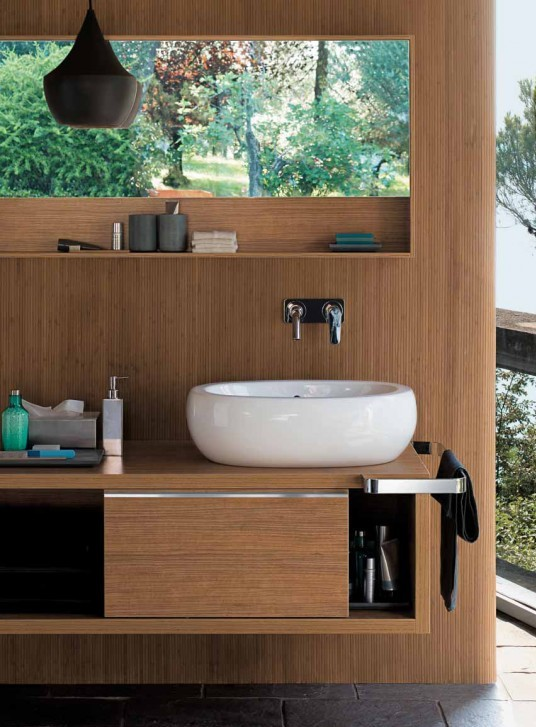 Fabulous Bathroom Designs with Wood Cabinets 536 x 727 · 103 kB · jpeg
