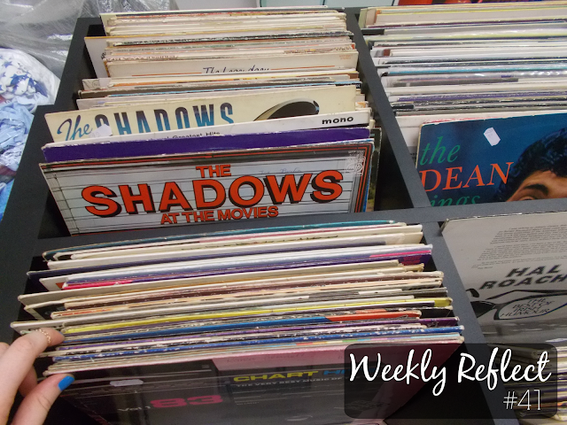weekly reflect the shadows vinyl record vintage charity shop thrift