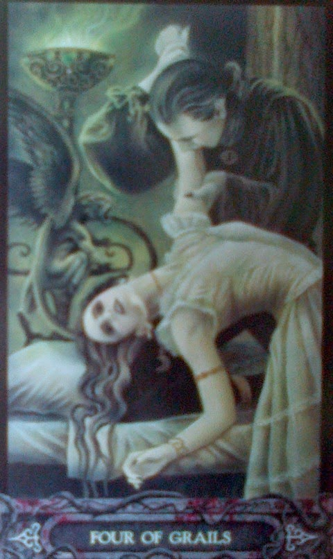 four of cups vampyre tarot