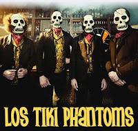 Los Tiki Phantoms en Sevilla, actuación el 24 de febrero de 2012 en la Sala Custom (antigua Sala Q)