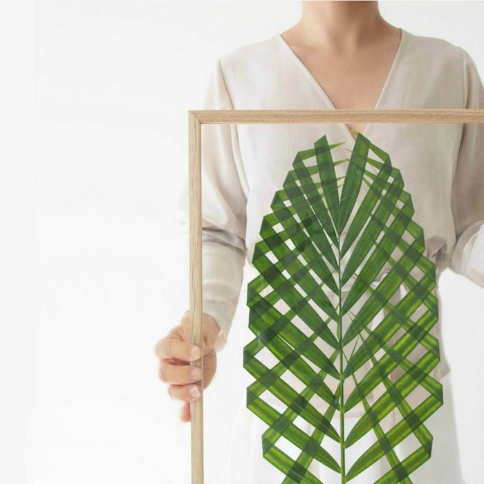 Cómo hacer un cuadro con plantas naturales