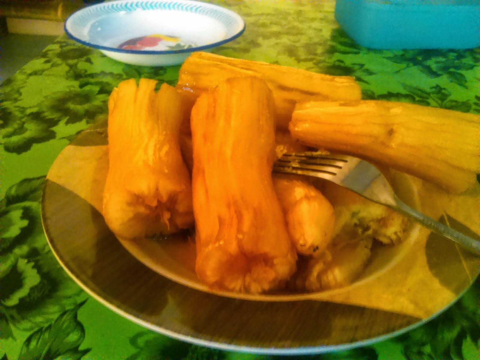 """Makanan khas sunda """"Cimplung Sampeu"""""""
