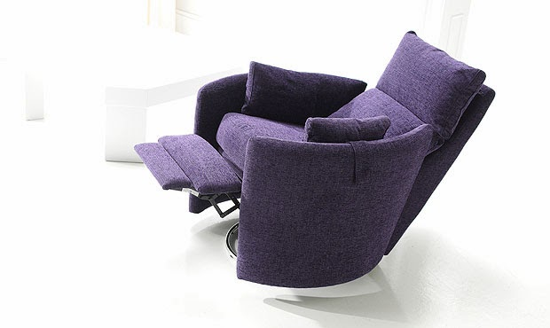 fauteuil confortable inclinable moderne
