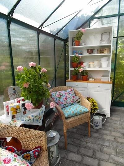 romantiskt växthus