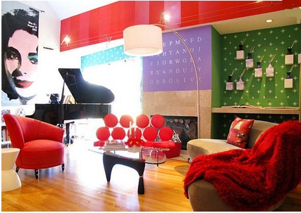 Decoraxpoco estilo pop art - Muebles pop art ...