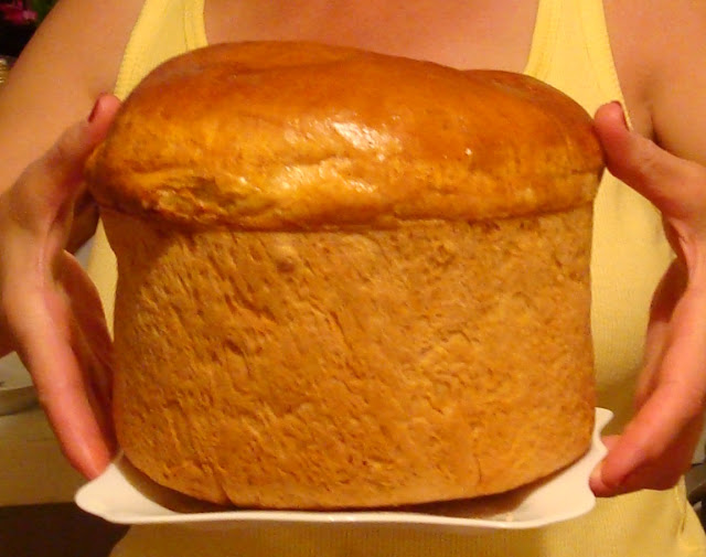 Home baked bread, Western Ukraine