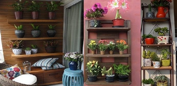 Mundo de cissa prateleiras na decora o for Estantes para plantas exteriores