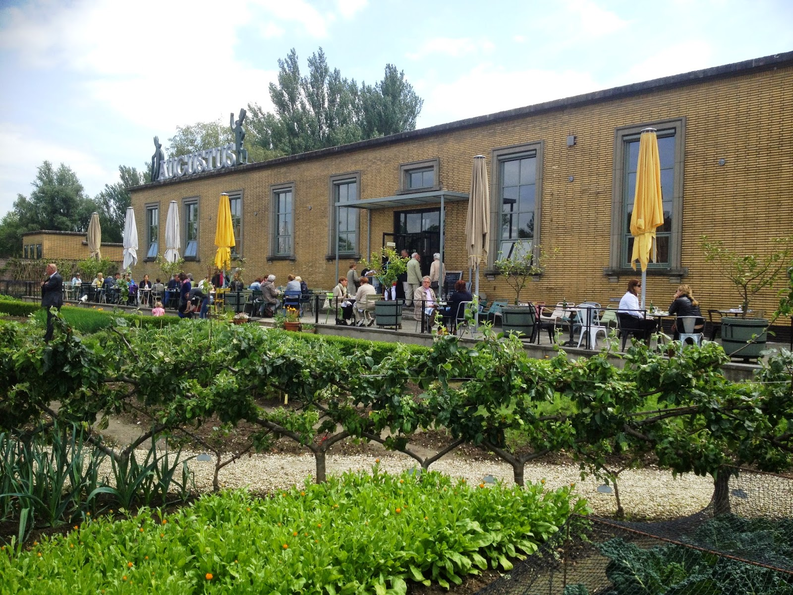 Restaurant van Villa Augustus