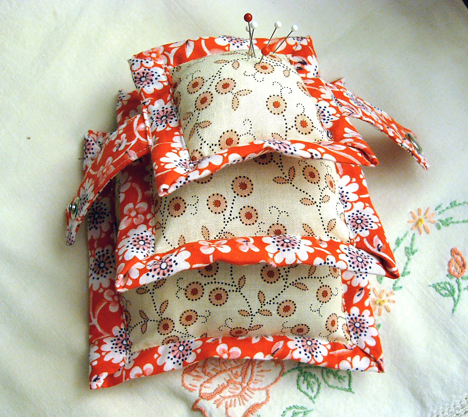 PStreet Pillow Pincushion PDF Pattern