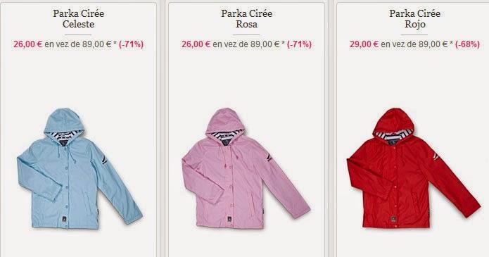 Tu parka para niño o niña por sólo 26 euros en esta oferta