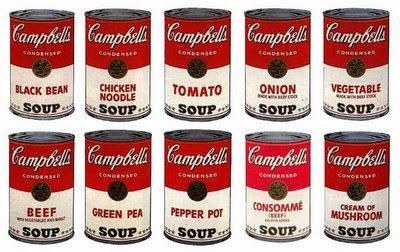 Lata de Sopa Campbell de Andry Warhol