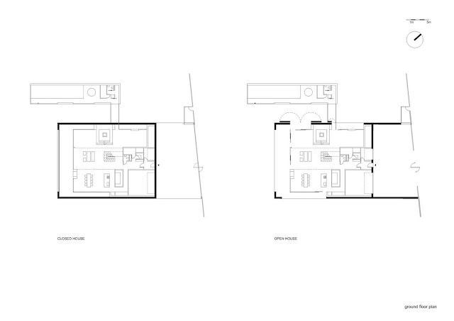 Floor plan of safest house