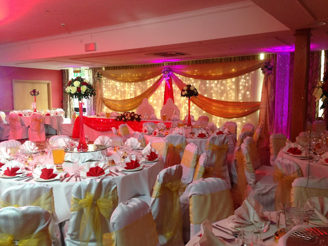Your one stop wedding shop for balloons, flowers, chair cover hire, table decorations