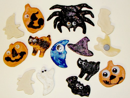 make your own halloween magnets craft