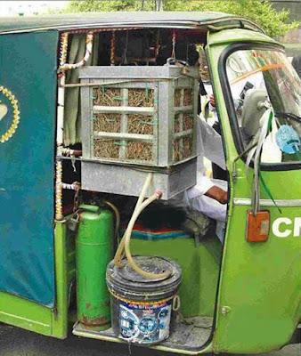 Pakistani Auto Rickshaw with Air Cooler