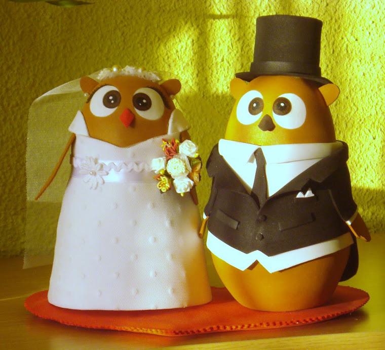 Javi y Viki, novios de tarta de bodas